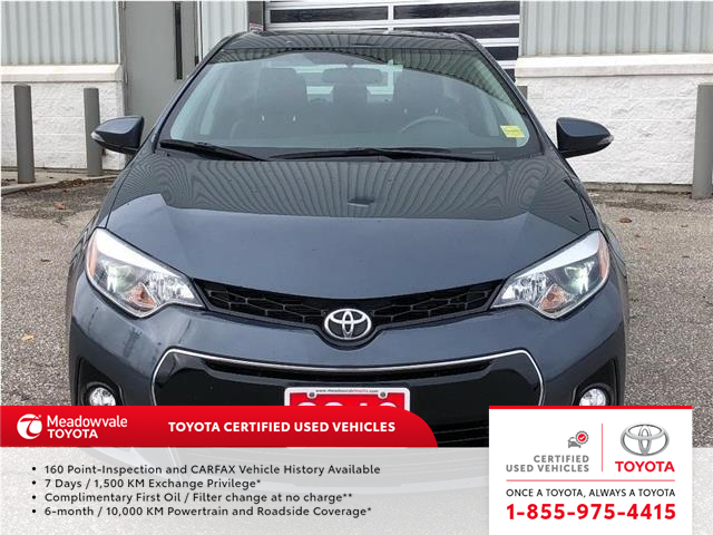 2016 Toyota Corolla S UPGRADE PKG!! JUST TRADED IN !! (Stk: 31531) in Mississauga - Image 2 of 15