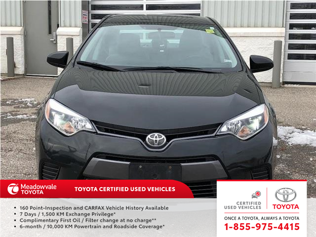 2016 Toyota Corolla LE!!  JUST TRADED IN !! (Stk: 31532) in Mississauga - Image 2 of 20