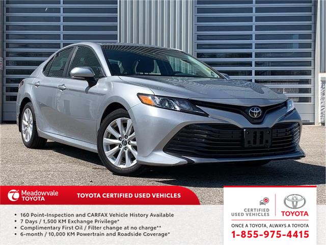 2018 Toyota Camry LE (Stk: 31618) in Mississauga - Image 1 of 15