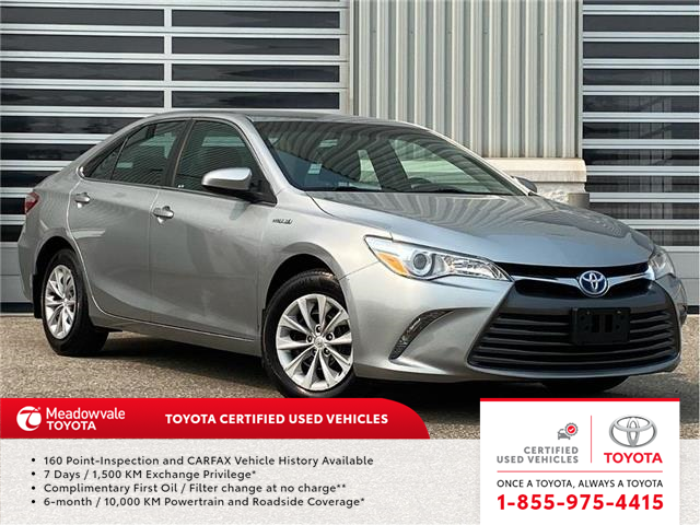 2017 Toyota Camry Hybrid LE (Stk: 31611) in Mississauga - Image 1 of 14