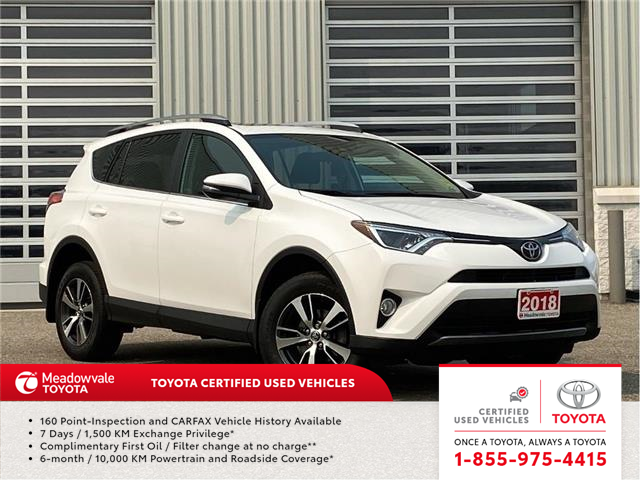 2018 Toyota RAV4 XLE AWD (Stk: M200740A) in Mississauga - Image 1 of 16