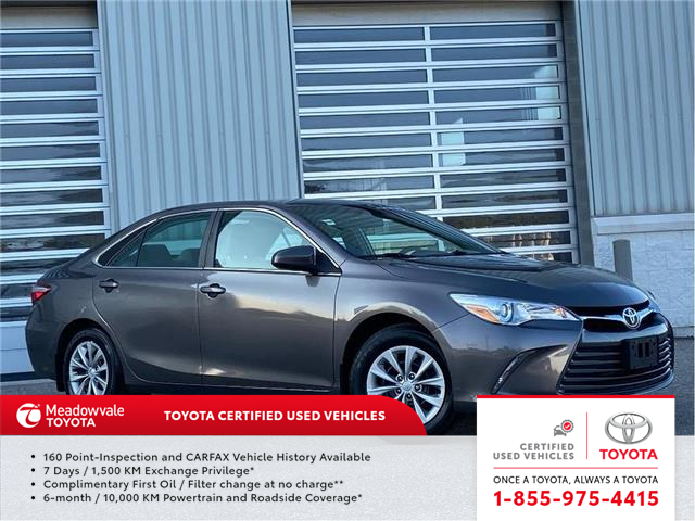 2015 Toyota Camry LE (Stk: 31620) in Mississauga - Image 1 of 13