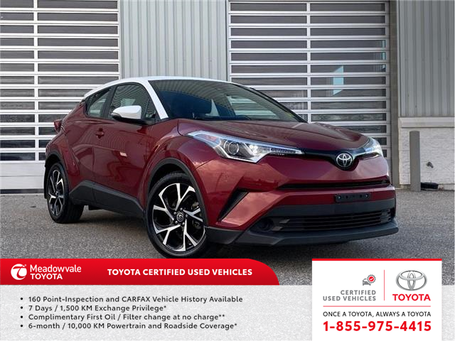 2018 Toyota C-HR XLE (Stk: 31632) in Mississauga - Image 1 of 13