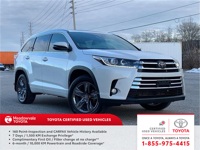 2018 Toyota Highlander Limited (Stk: M200879A) in Mississauga - Image 1 of 16