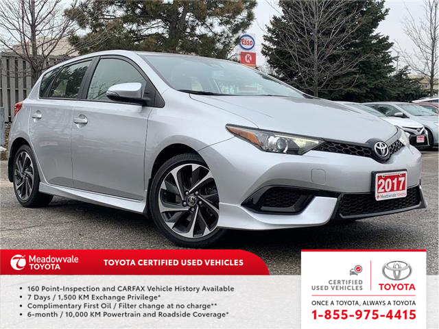 2017 Toyota Corolla iM iM (Stk: 31634) in Mississauga - Image 1 of 9