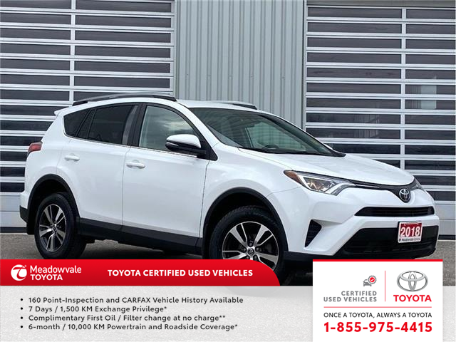 2018 Toyota RAV4 LE (Stk: M210129A) in Mississauga - Image 1 of 15
