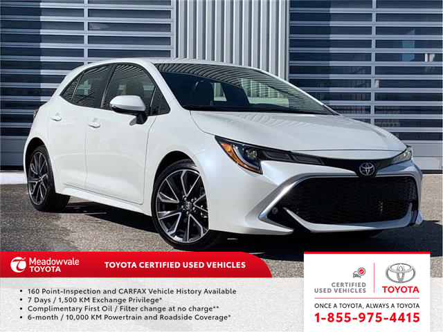 2019 Toyota Corolla Hatchback XSE (Stk: 31641) in Mississauga - Image 1 of 15