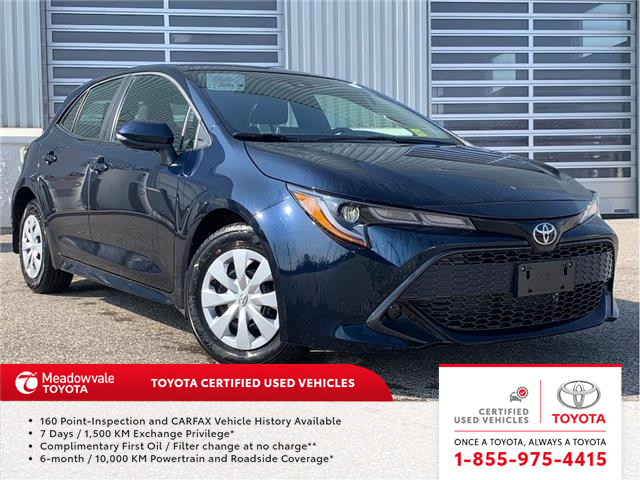 2020 Toyota Corolla Hatchback SE (Stk: 31653) in Mississauga - Image 1 of 12