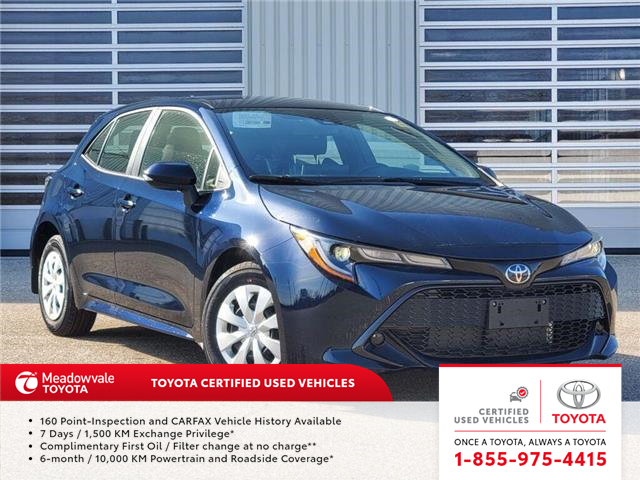 2020 Toyota Corolla Hatchback CVT (Stk: 31652) in Mississauga - Image 1 of 13