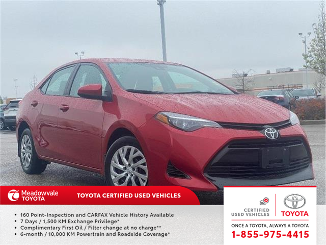 2018 Toyota Corolla LE (Stk: M210333A) in Mississauga - Image 1 of 15