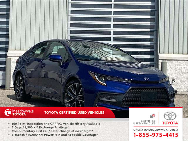 2020 Toyota Corolla SE (Stk: M210295A) in Mississauga - Image 1 of 15