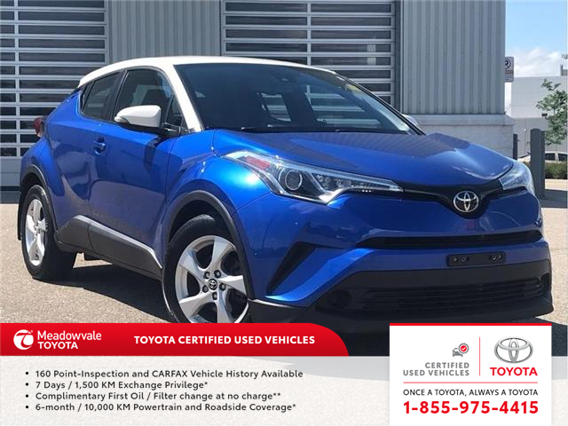 2018 Toyota C-HR XLE (Stk: m2000404A) in Mississauga - Image 1 of 15