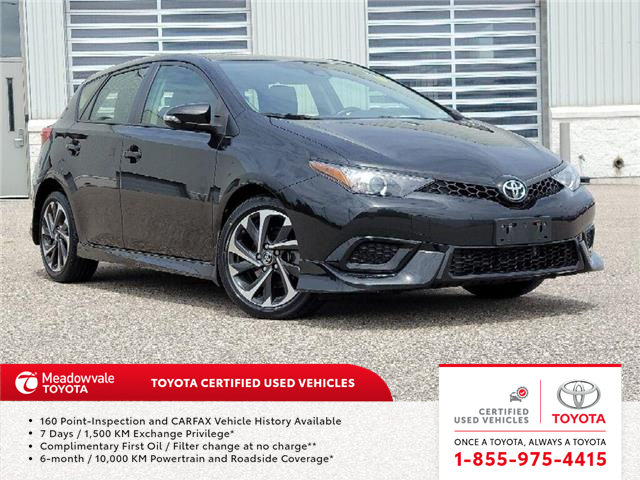 2017 Toyota Corolla iM  (Stk: M210147A) in Mississauga - Image 1 of 14