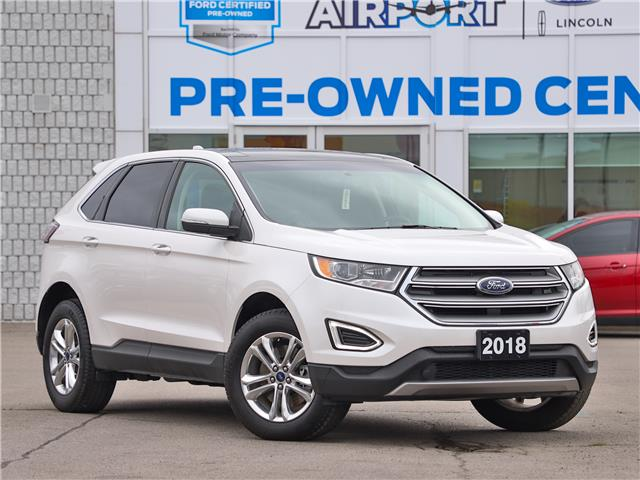 2018 Ford Edge SEL (Stk: A00008) in Hamilton - Image 1 of 21