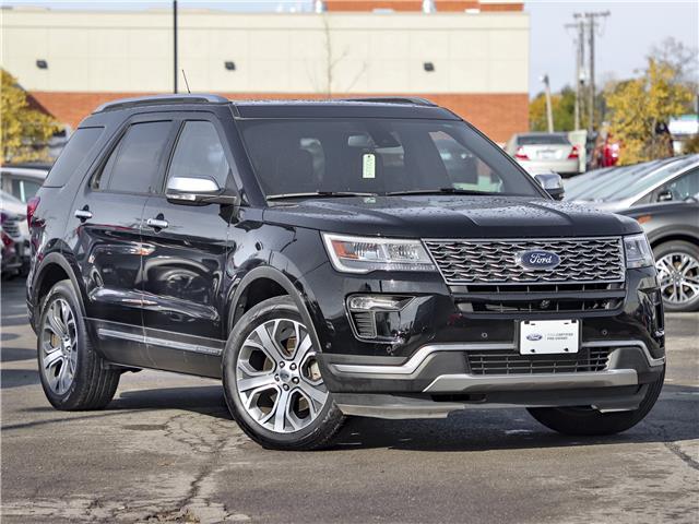 2018 Ford Explorer Platinum (Stk: A00025C) in Hamilton - Image 1 of 28
