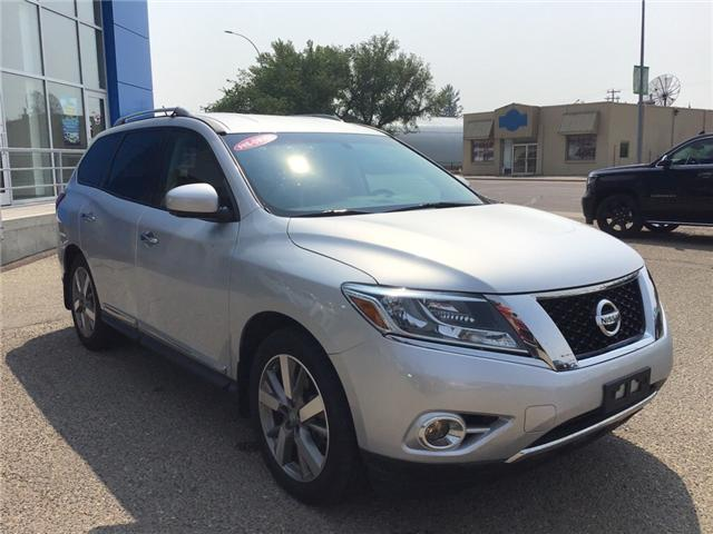 2014 Nissan Pathfinder Platinum (Stk: 204489) in Brooks - Image 1 of 26