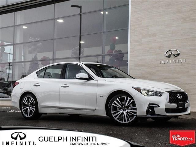 2019 Infiniti Q50 3.0t Signature Edition (Stk: I6812) in Guelph - Image 1 of 24