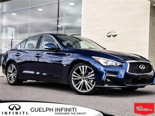 2019 Infiniti Q50 3.0t Signature Edition (Stk: I6805) in Guelph - Image 1 of 23