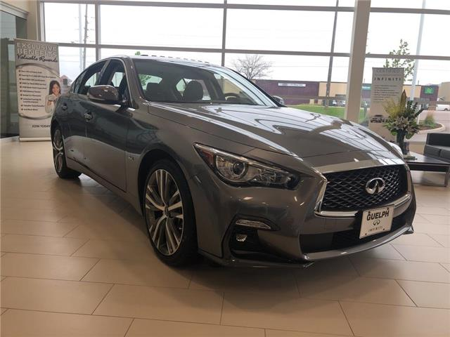 2019 Infiniti Q50 3.0t Signature Edition (Stk: I6837) in Guelph - Image 1 of 15