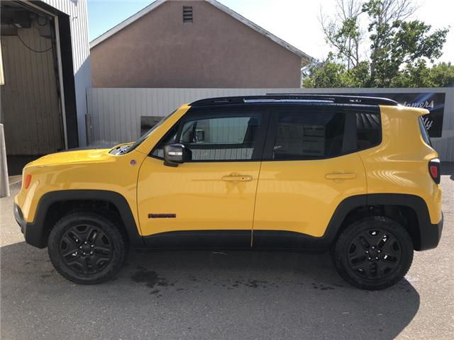 2018 Jeep Renegade Trailhawk (Stk: 13679) in Fort Macleod - Image 2 of 20