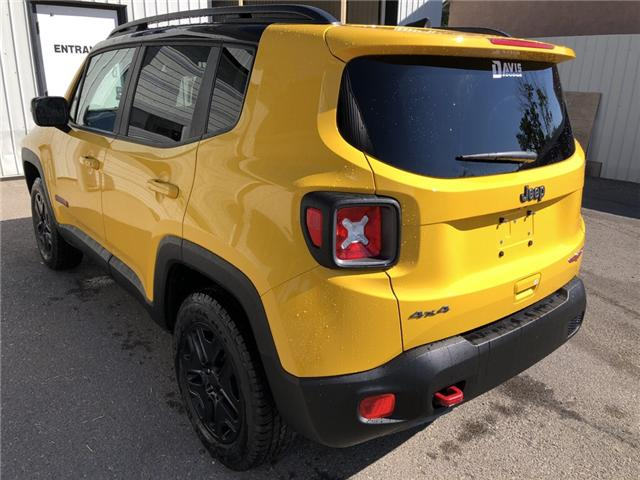 2018 Jeep Renegade Trailhawk (Stk: 13679) in Fort Macleod - Image 3 of 20
