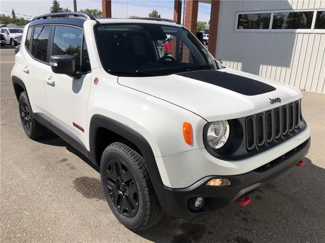 2018 Jeep Renegade Trailhawk (Stk: 13683) in Fort Macleod - Image 7 of 20