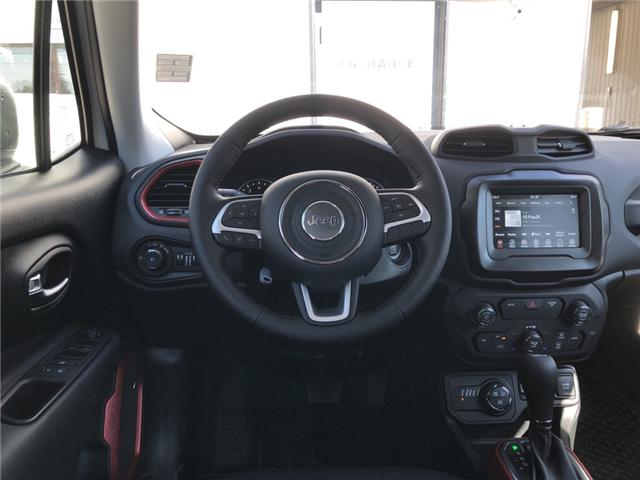 2018 Jeep Renegade Trailhawk (Stk: 13683) in Fort Macleod - Image 11 of 20