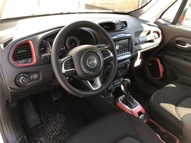 2018 Jeep Renegade Trailhawk (Stk: 13683) in Fort Macleod - Image 12 of 20