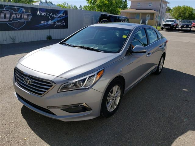 2017 Hyundai Sonata GL (Stk: 15124) in Fort Macleod - Image 1 of 17