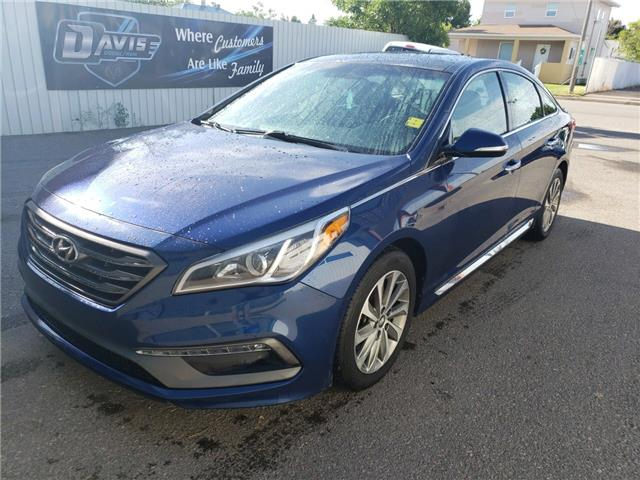 2015 Hyundai Sonata 2.0T (Stk: 15240) in Fort Macleod - Image 1 of 18
