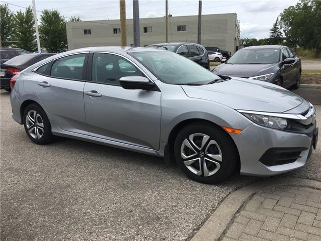 2017 Honda Civic LX (Stk: U5990) in Waterloo - Image 1 of 3