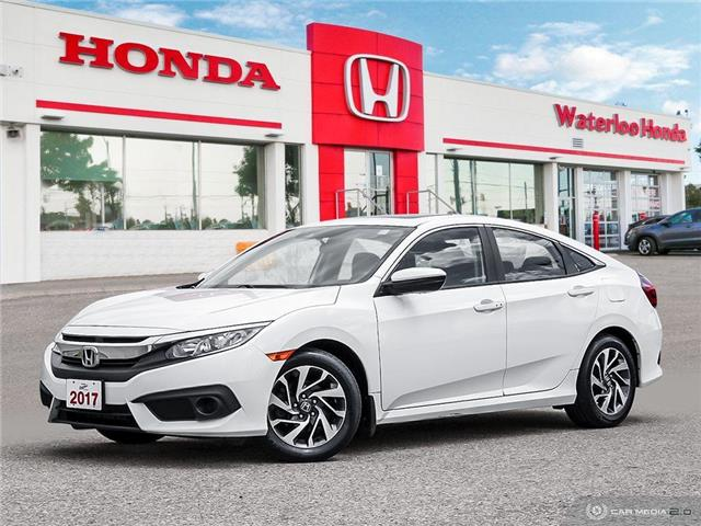 2017 Honda Civic EX (Stk: U5960) in Waterloo - Image 1 of 27