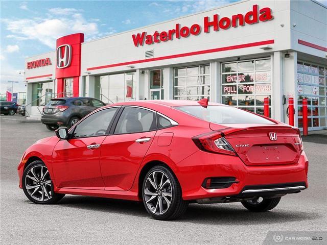 2019 Honda Civic Touring (Stk: U5780) in Waterloo - Image 4 of 27