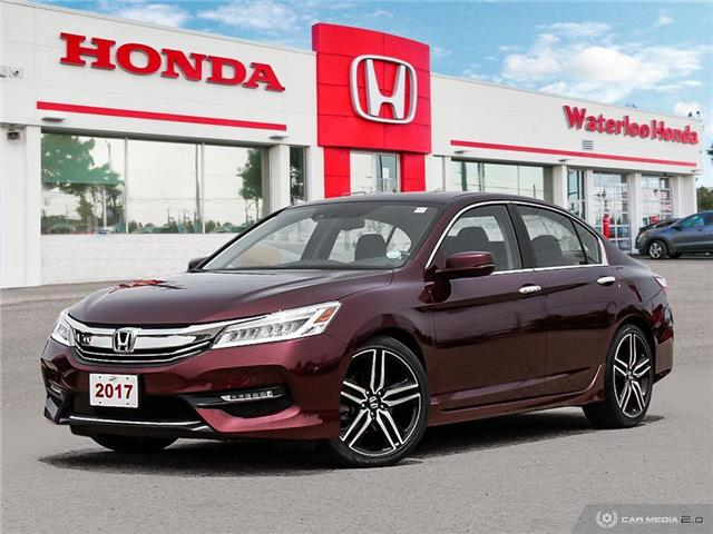2017 Honda Accord Touring (Stk: H5803A) in Waterloo - Image 1 of 27
