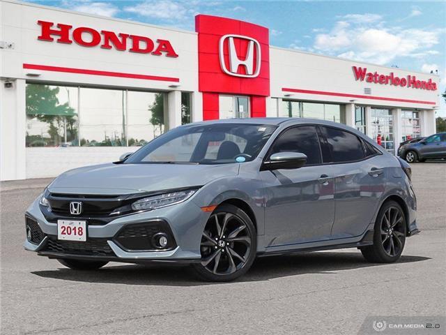 2018 Honda Civic Sport Touring (Stk: U5905) in Waterloo - Image 1 of 27