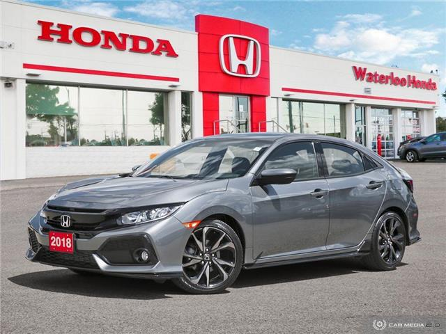 2018 Honda Civic Sport (Stk: H3991) in Waterloo - Image 1 of 27