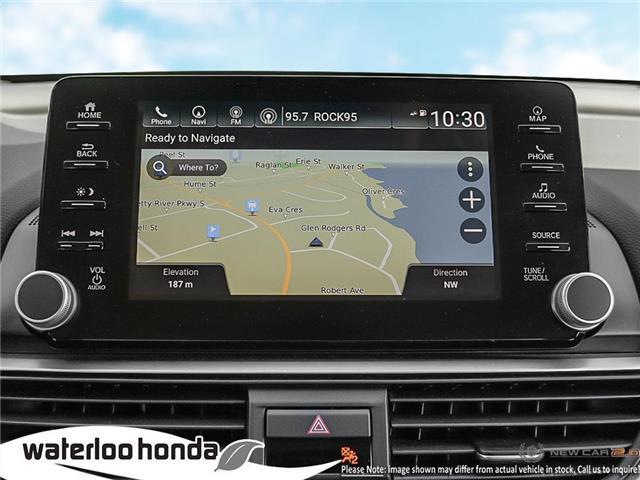 2019 Honda Accord Touring 2.0T (Stk: H5659) in Waterloo - Image 17 of 22