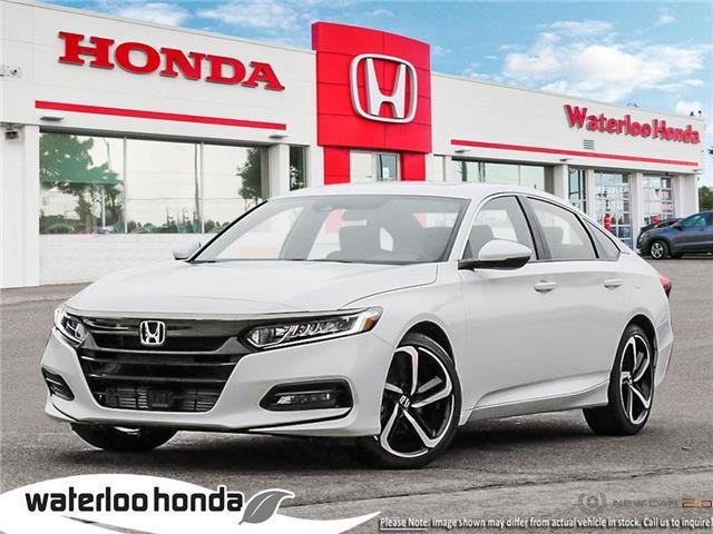 2019 Honda Accord Sport 2.0T (Stk: H4755) in Waterloo - Image 1 of 23