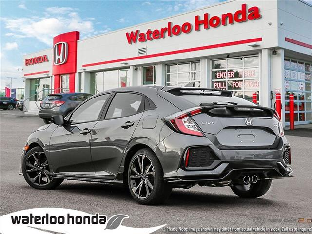 2019 Honda Civic Sport Touring (Stk: H5166) in Waterloo - Image 4 of 23