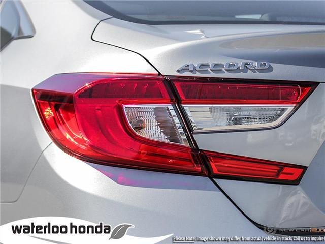 2019 Honda Accord Touring 1.5T (Stk: H5335) in Waterloo - Image 11 of 23
