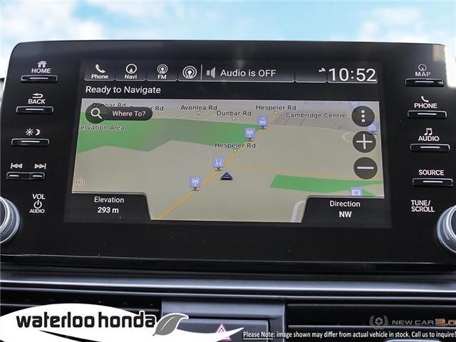 2019 Honda Accord Touring 1.5T (Stk: H5335) in Waterloo - Image 18 of 23