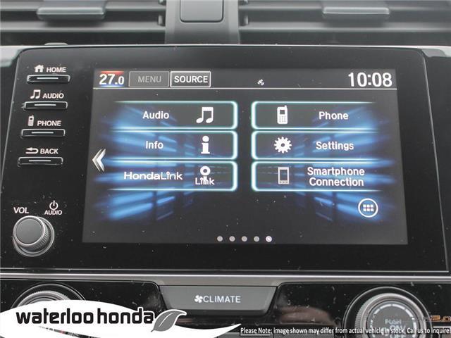 2019 Honda Civic LX (Stk: H5728) in Waterloo - Image 18 of 23