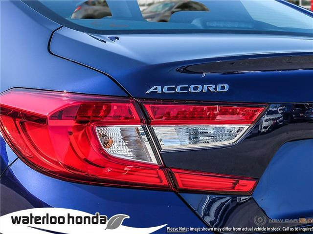 2019 Honda Accord Touring 1.5T (Stk: H4928) in Waterloo - Image 11 of 23