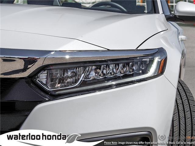2019 Honda Accord LX 1.5T (Stk: H5340) in Waterloo - Image 10 of 23