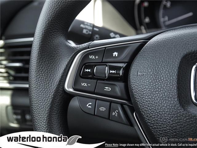 2019 Honda Accord LX 1.5T (Stk: H5340) in Waterloo - Image 15 of 23