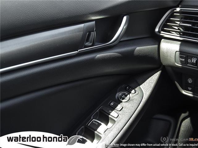 2019 Honda Accord LX 1.5T (Stk: H5340) in Waterloo - Image 16 of 23