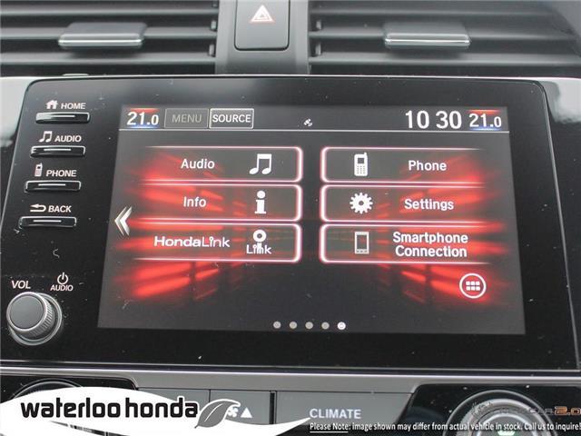 2019 Honda Civic Sport (Stk: H5391) in Waterloo - Image 18 of 23
