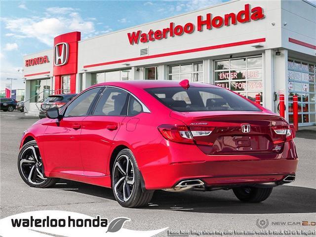 2019 Honda Accord Sport 2.0T (Stk: H5208) in Waterloo - Image 4 of 23