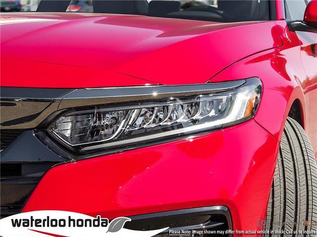 2019 Honda Accord Sport 2.0T (Stk: H5208) in Waterloo - Image 10 of 23