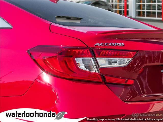 2019 Honda Accord Sport 2.0T (Stk: H5208) in Waterloo - Image 11 of 23